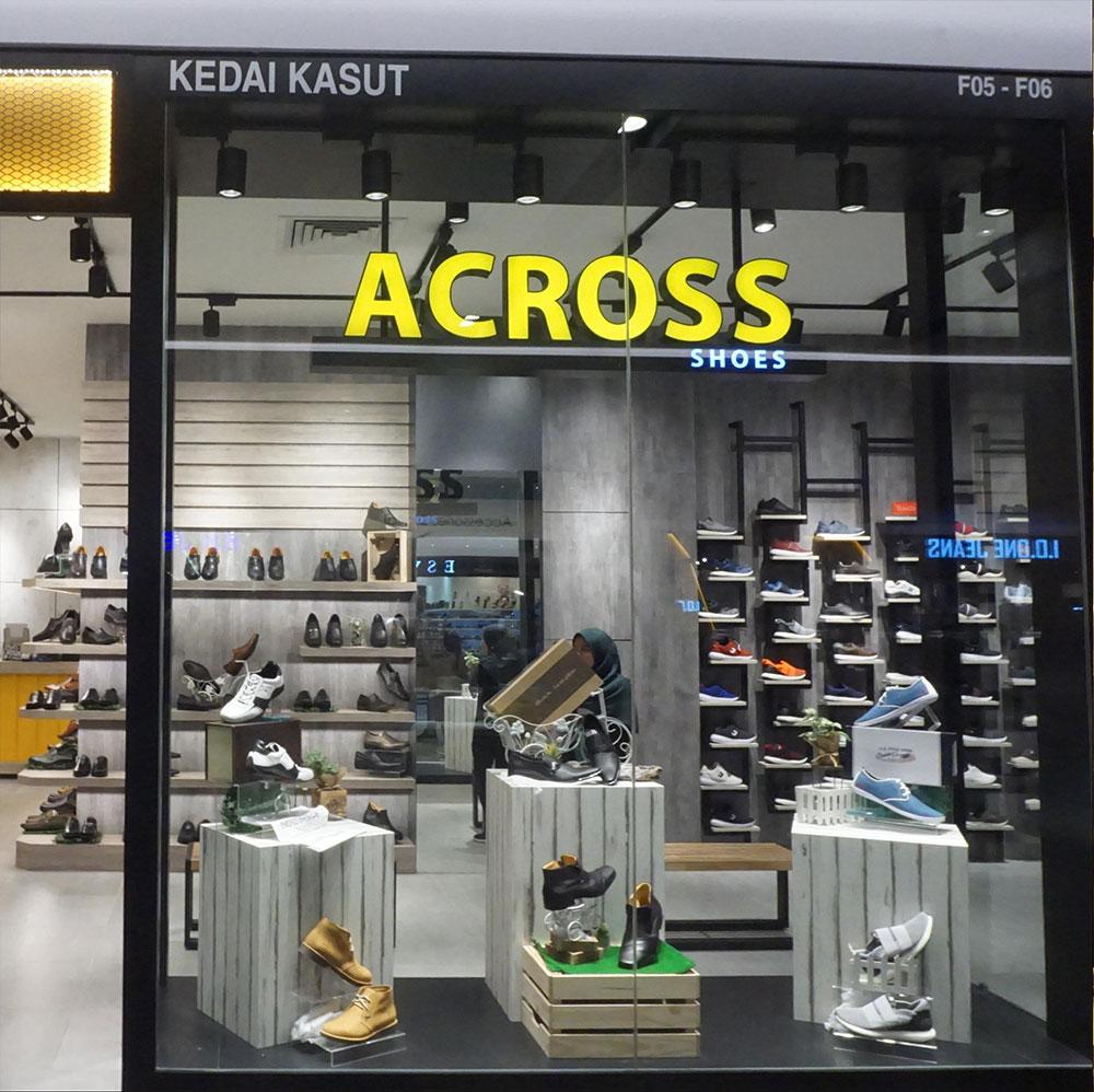 Across Shoes